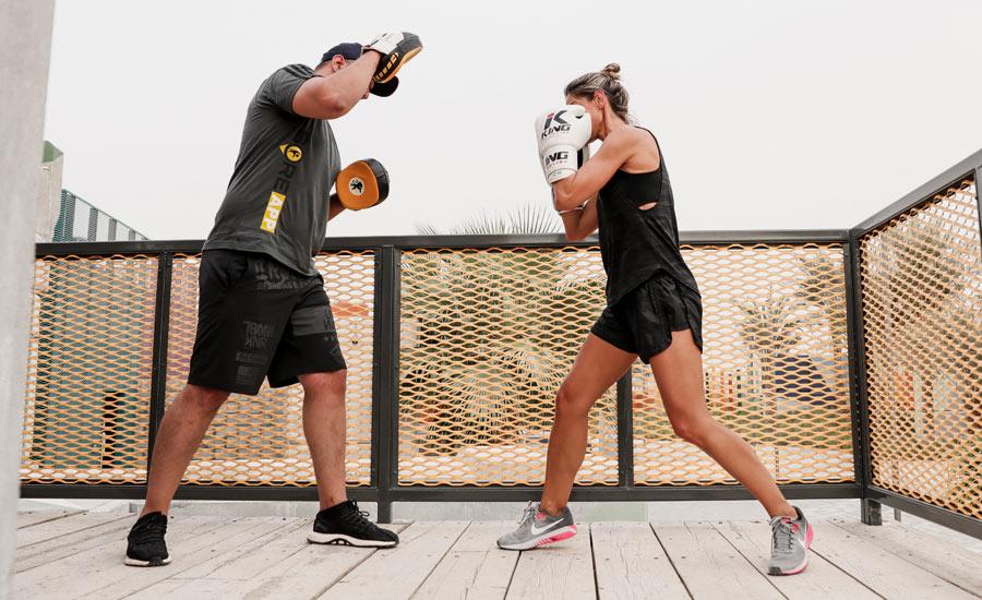 Martial Arts De-stress Cardio